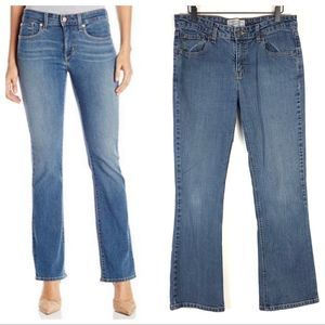 Levi's Stretch High Rise Bootcut Jeans Size 10